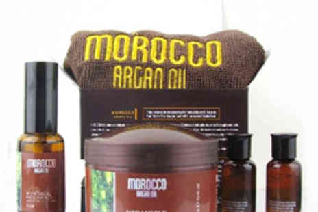 Gorgeous Things - Morocco Argan Oil Hair Product Gift Set - Save 68%