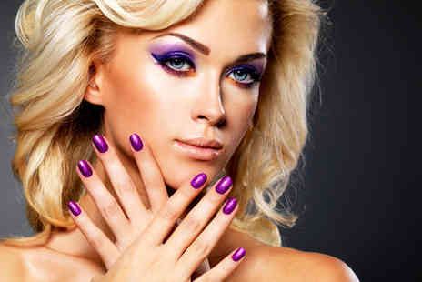 Nails & Beauty Basford - Rock star manicure or pedicure with an eyebrow wax - Save 74%