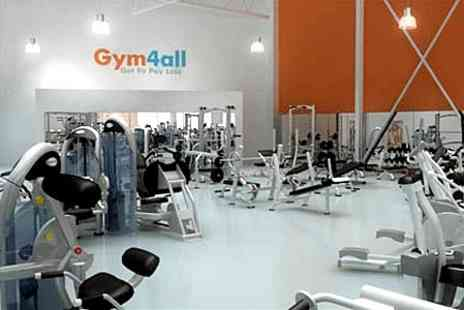 Gym4all - Gym4all: Ten Passes - Save 80%