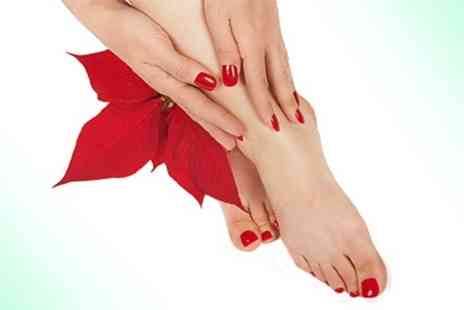 SOS Professionals - Shellac Manicure or Pedicure - Save 60%