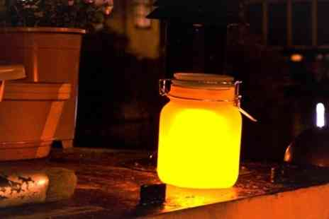 Find Me a Gift - Solar Powered Sun Jars - Save 50%