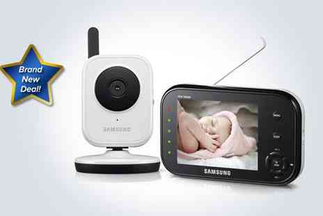 Box.co.uk - Samsung wireless baby monitoring system - Save 50%