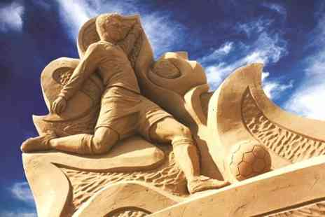 Sand Sculpture Festival 2013 - Sand Sculpture Festival Tickets For Two - Save 50%