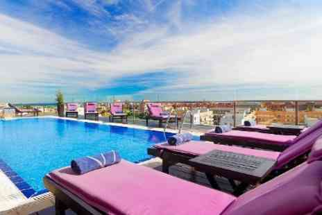 H10 Marina Barcelona Hotel - One Night 4 star Stay For Two With Breakfast and Spa Access - Save 51%
