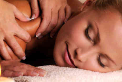 Essential Spa - Pamper Package with Aroma Facial, Specialist Eye Treatment, Scalp Massage and Hot Stone Back, Neck, and Shoulder Massage - Save 78%