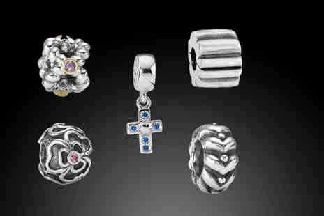 Jewel First - Five different Pandora charms - Save 20%