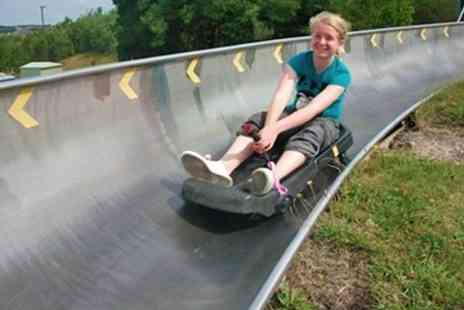 Swadlincote Ski Slope and Snowboard Centre - Sno Tubing and Tobogganing For Two - Save 56%