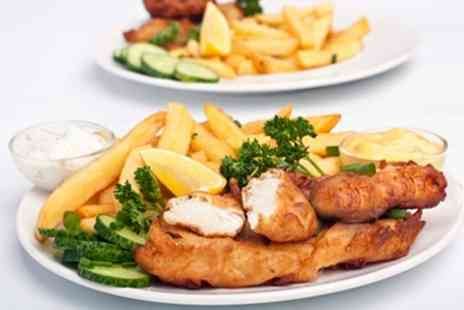 Micawbers Fish Bar and Restaurant - Fish and Chips For One - Save 53%