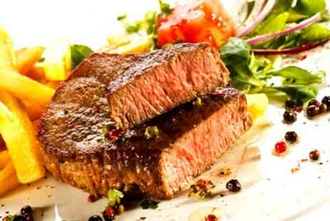 No.19 Restaurant - 8 Sirloin Steak Meal For Two - Save 52%