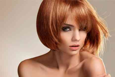 Head Kandy - Half Head Highlights or Full Head Colour Plus Cut and Finish - Save 66%