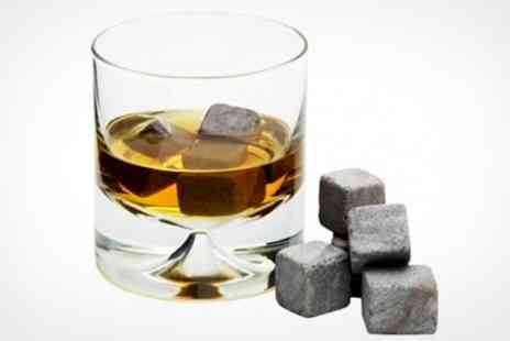 Premium Brands 4 Less - One Whiskey Stones Sets of Eight Granite Ice Cubes - Save 63%