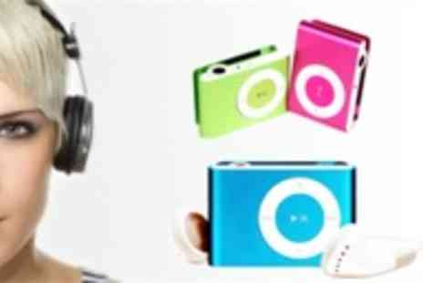 UKCJS - 2GB MP3 player in a choice of three colours - Save 75%