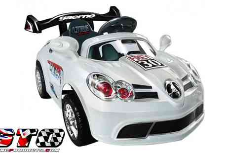 STO Racing Products - Kids Ride On 6v Supercar - Save 40%