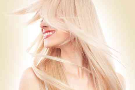 Exquisite Hair Salon - Full head of highlights with a cut and blast blow dry - Save 50%