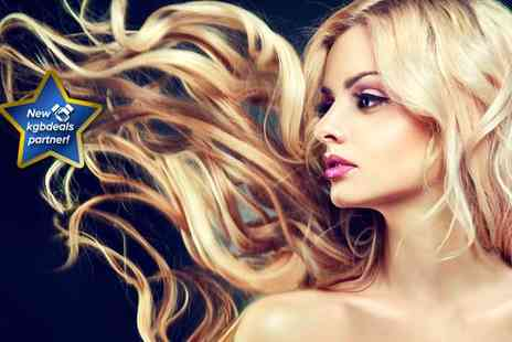 Luxy Hair Studio - Half head of highlights or full head of colour, plus a wash, cut, blow-dry and conditioning treatment - Save 71%