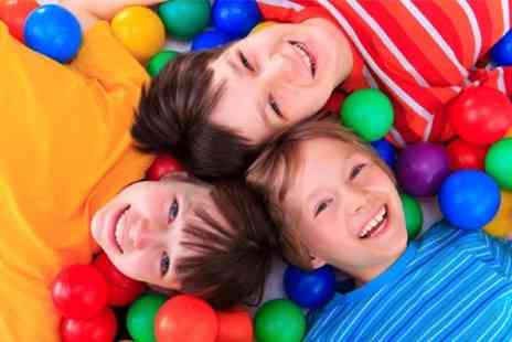 Cheeky Charlies Funhouse - Soft Play Party For 12 Children - Save 52%