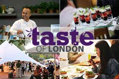 Taste Festivals - Two Taste of London Tickets - Save 36%