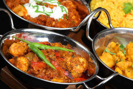 Balti King Leeds - Indian meal for two, including a starter and a main each - Save 57%