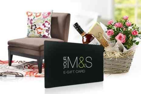 Marks and Spencer - E Gift Card - Save 50%