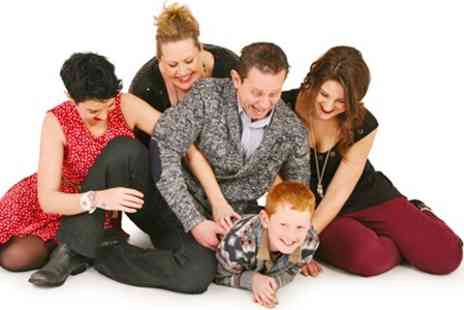 Studio 56 - Family Photoshoot With Six Images - Save 94%