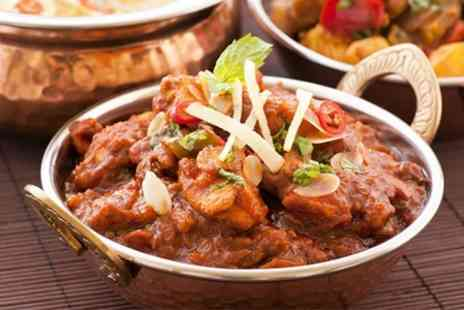 Miah Indian Cuisine - Indian Meal For Two - Save 22%