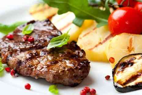 Cafe Med - 28 Day Matured Steak Meal For Two - Save 60%