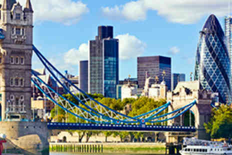 Thames River Tours - Four Hour Thames River Cruise with Cocktail, BBQ and Nightclub Entry for One - Save 51%