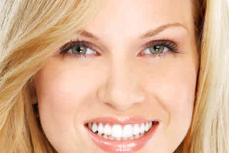 White and Bright Teeth Whitening - Laser Teeth Whitening Treatment for One - Save 72%