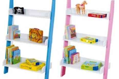 Easy Gift Products - Childrens Wall Shelf  Available In Pink - Save 60%
