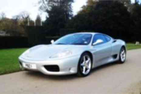 Golden Moments - 25 mile Ferrari 360 F1 driving experience - Save 60%