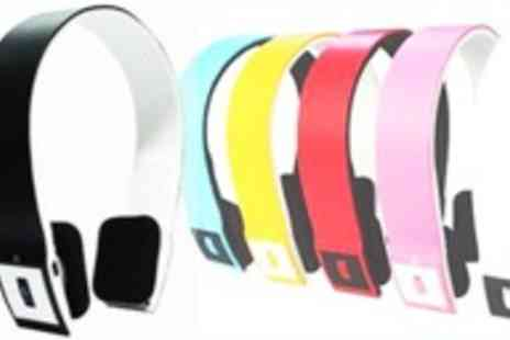 Livmore - Bluetooth wireless headphones in a choice of colours - Save 60%