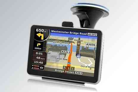 Sat Nav - 4.3 inch Touchscreen - Save 50%