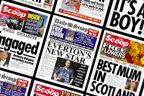 Scooped - One Personalised Spoof Newspaper - Save 50%