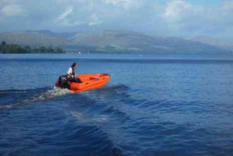 Loch Lomond Boat Hire - One Hour For Four People - Save 50%