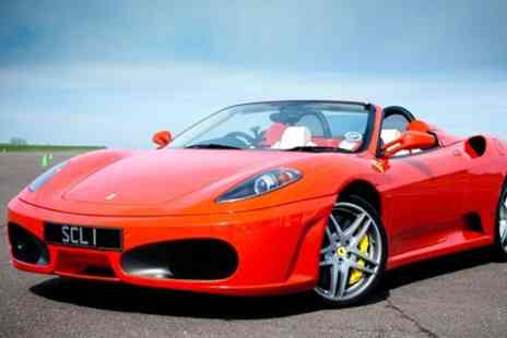 Supercar Lifestyle - One Driving Laps in Three Cars For One People - Save 41%