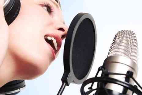 The ChartHouse Studio - Pop Star Experience For Up to Eight - Save 61%