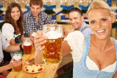 Octoberfest Pub - Octoberfest Pub Bavarian Platter With Beer For Two - Save 65%