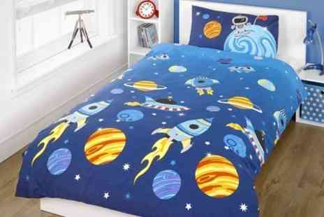 Dynergy - Childrens Single Duvet Set With Choice of Design - Save 57%