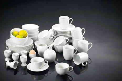 Dinner Warehouse - 50 piece dinner set - Save 63%