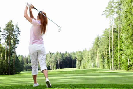 Oakmere Park Golf Club - 1 hour beginners golf lessons - Save 60%