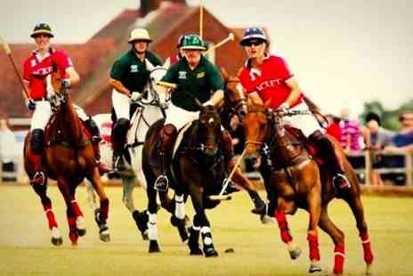 Polo For Heroes - Polo For Heroes BBQ Ticket With Sparkling Wine - Save 25%