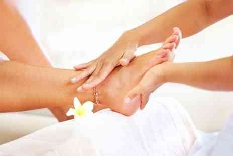 Me Time Beauty - Foot Care Hot Stone Pedicure - Save 60%