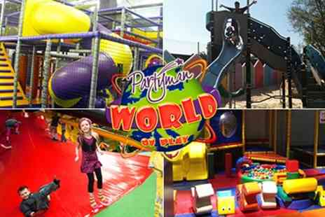 Partyman World of Play - Tickets to Activity Centre - Save 50%