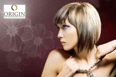 "Origin Rejuvenation Clinic - Cut, Restyle, Blow Dry and MOROCCANOILâ""¢ Treatment for £15- Save 70%"