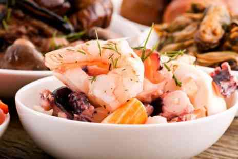 The Governor Rocks - Seafood Tasting Platter and Prosecco For Two - Save 57%