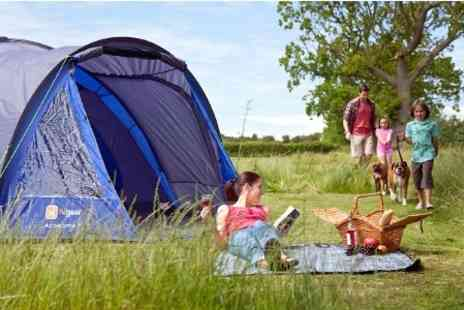Waldegraves Holiday - Three Night Camping Pitch For Up to Four - Save 68%