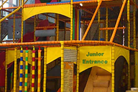 Moustrap Soft Play - Pass to Soft Play Centre and Soft Drink for Two Kids - Save 54%