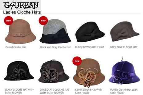 G4urban Planet - Stunning 1920s inspired cloche hats - Save 43%