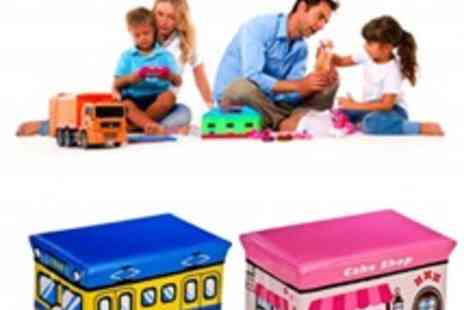 Inspire Home - Childrens Toy Storage Box - Save 51%