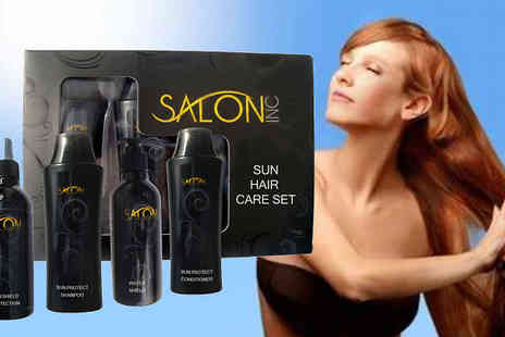 Health and Beauty Network Limited - Salon Confidential Sun Hair Care is there for your hair - Save 45%